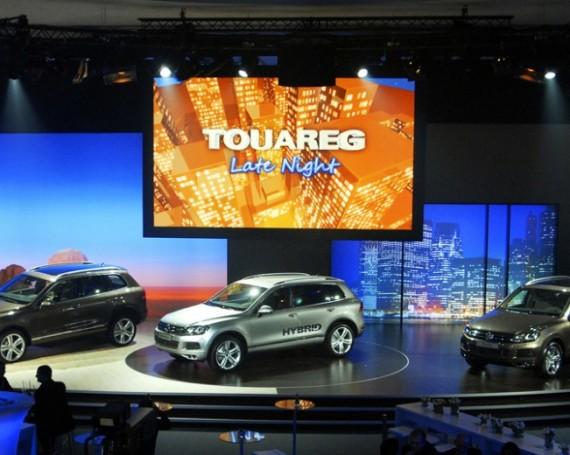 VW Touareg Weltpremiere 2010