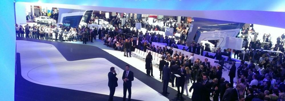 VW at Mondial de l'Automobile Paris