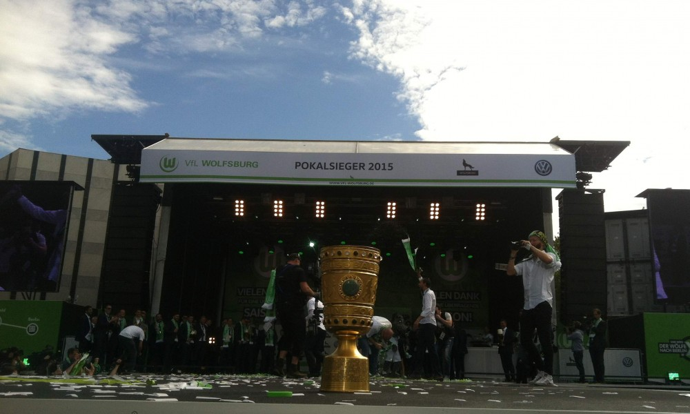 Open Air Fanfest VFL Wolfsburg