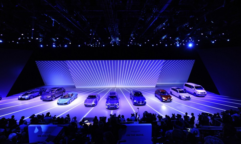 IAA VOLKSWAGEN Group Night 2015