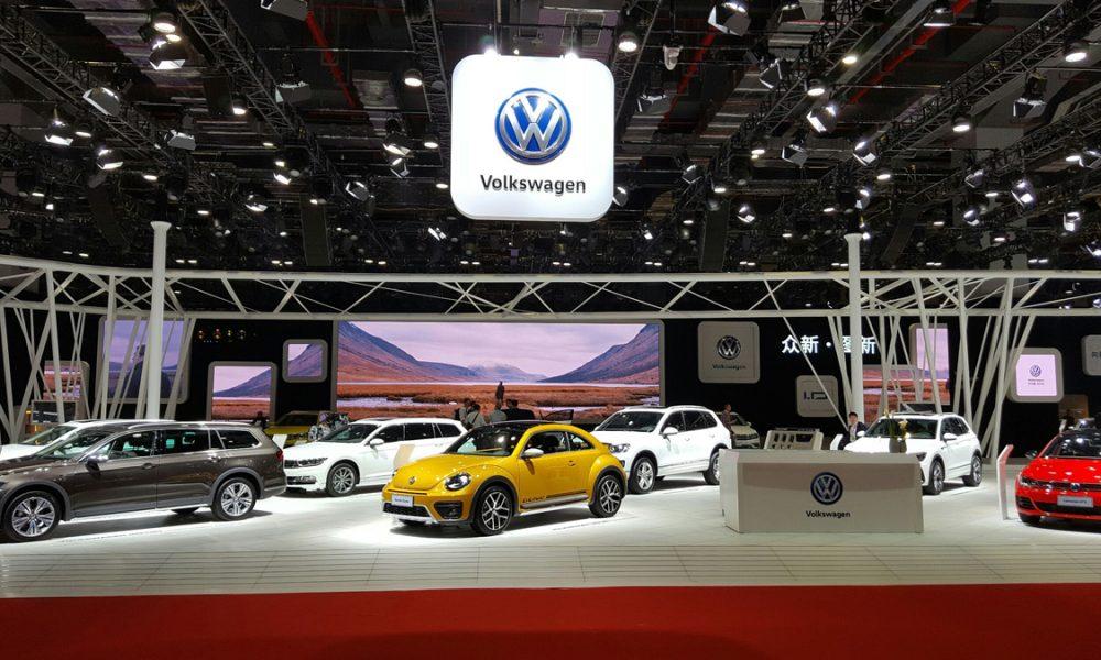 Volkswagen auf der Auto Shanghai 2017