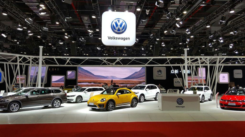 Auto Shanghai 2017 - VW Messestand