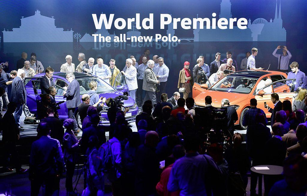 Volkswagen Polo Weltpremiere - Foto: © Volkswagen AG, 2017