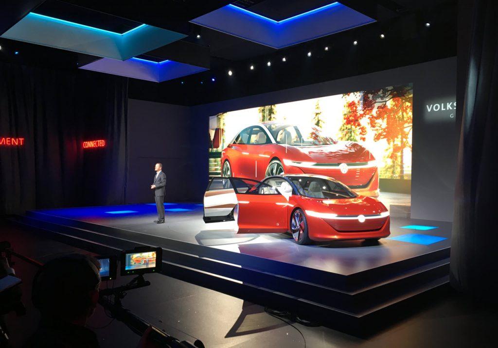 VW Group NIght Genf 2018 - Bühne