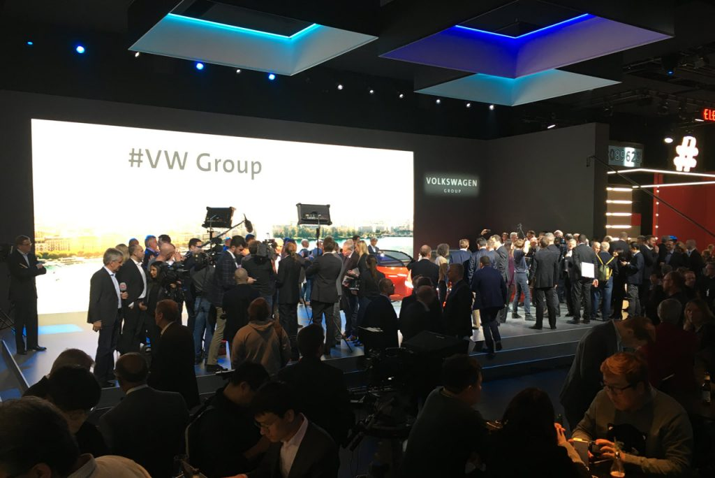 VW Group NIght Genf 2018