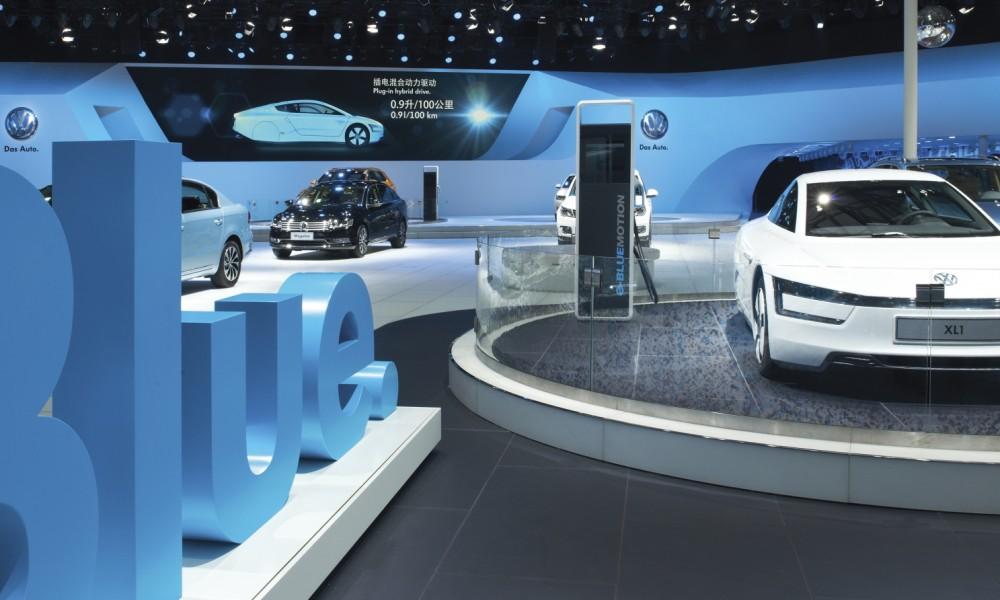 VW auf der Auto China in Shanghai 2013