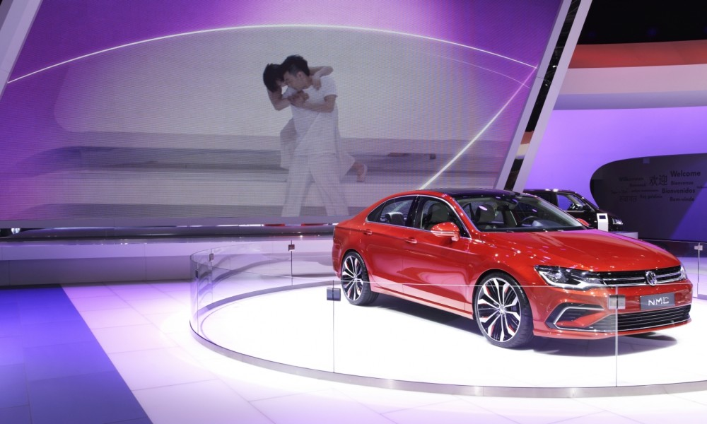 VW zu Gast auf der Auto China