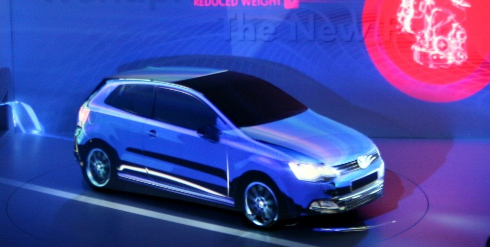 Polo,  Weltpremiere des kleinen VW