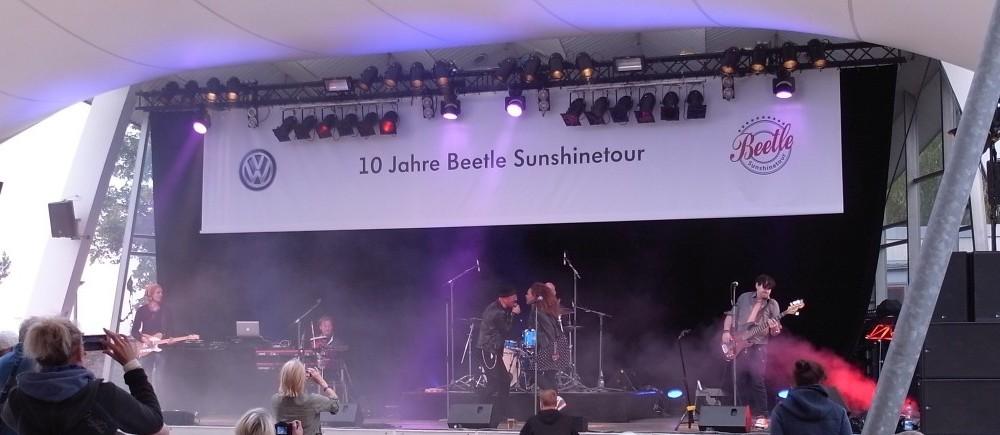 New Beetle Sunshinetour an der Ostsee