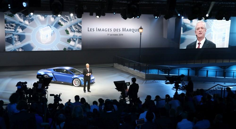 Group Night Paris 2014 der Volkswagen AG