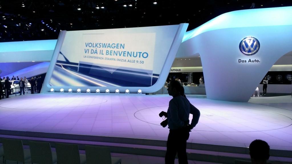 2015 VW Geneva Motor Show