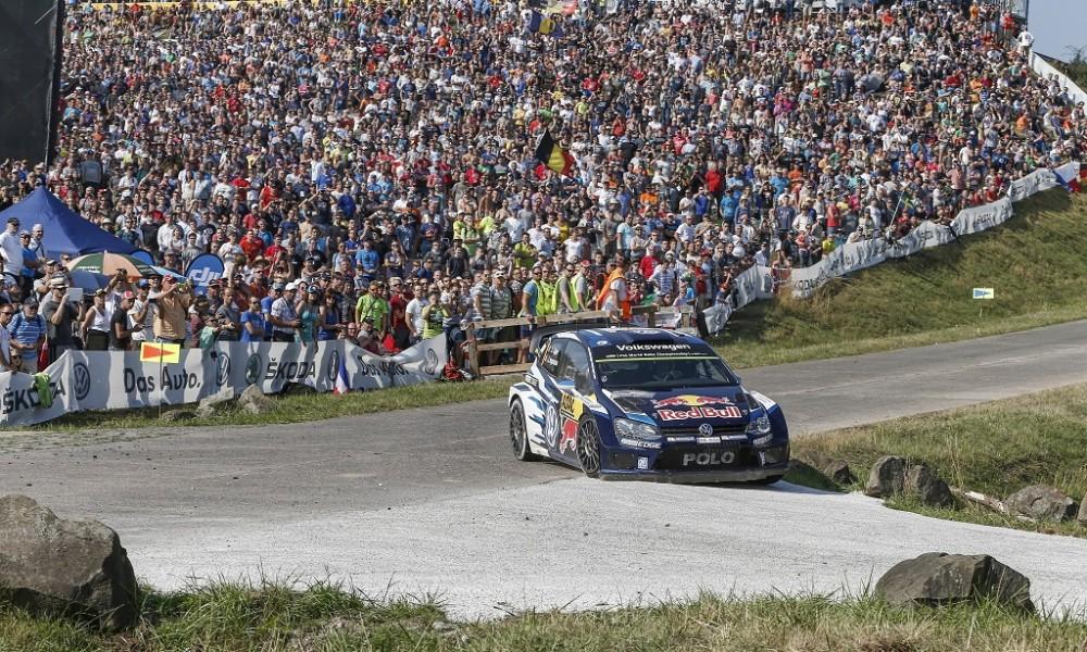 WRC VW Polo beim deutschen Lauf zur Rallye WM