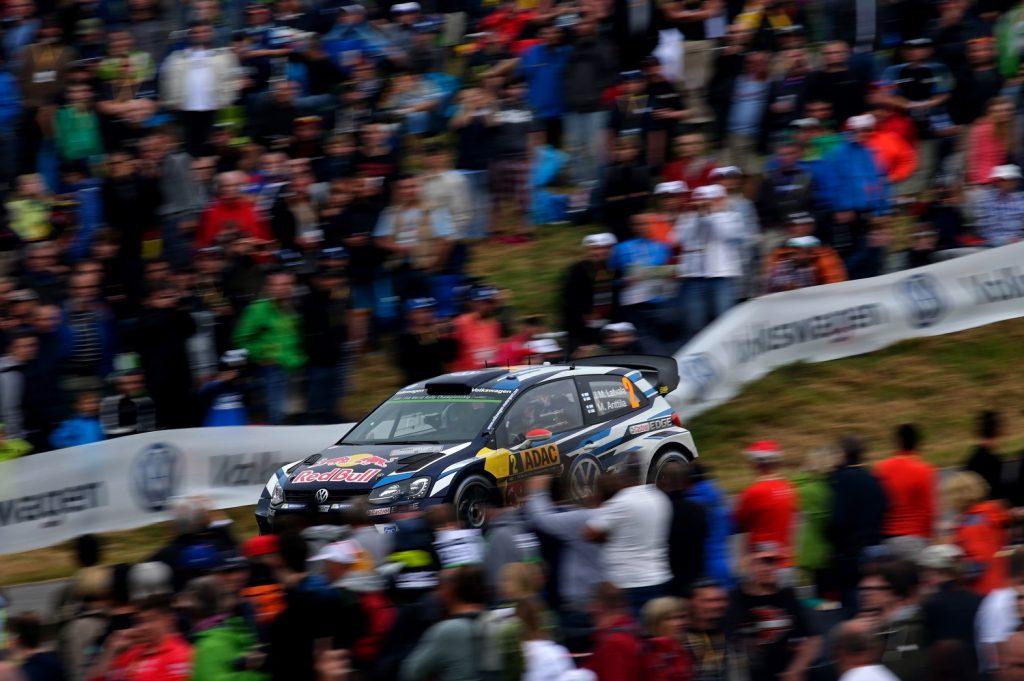 Deutscher Lauf zur WRC 2016 - VW Polo R
