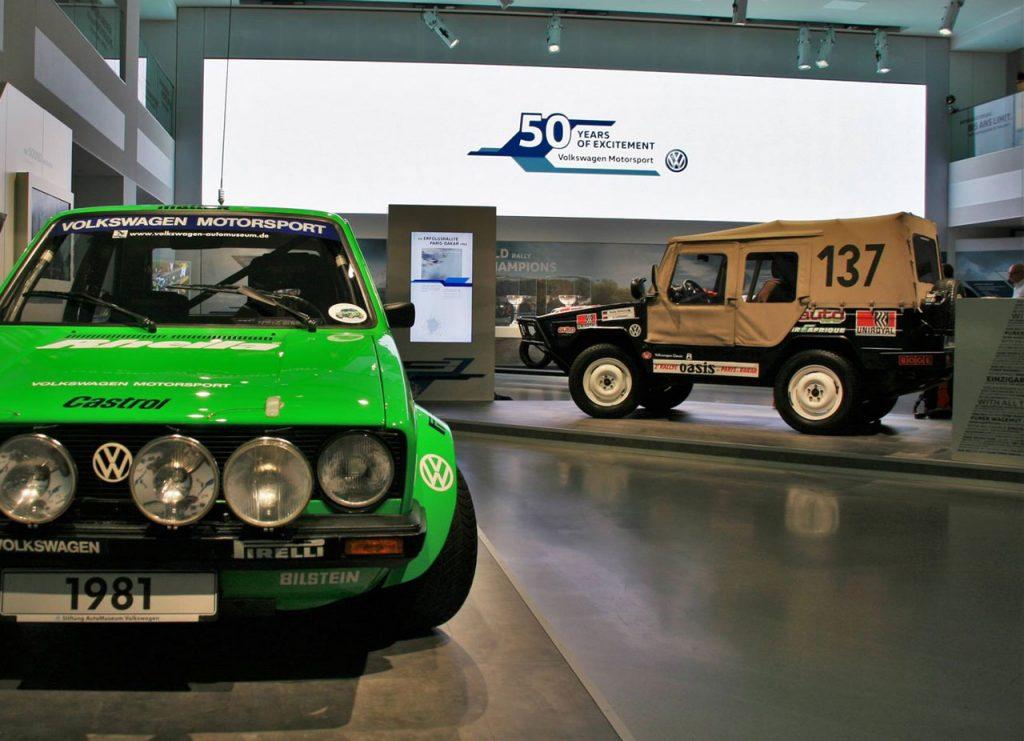 50 Jahre Volkswagen Motorsport im Drive - Presseevent zur Ausstellung