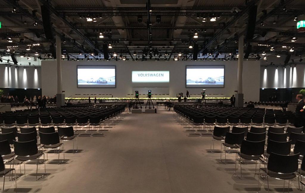 VW AG Hauptversammlung 2017 - Kameras