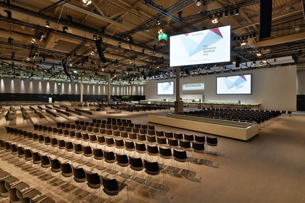 VW AG Hauptversammlung 2017 - Saal