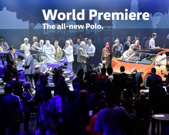 Polo Weltpremiere 2017 in Berlin