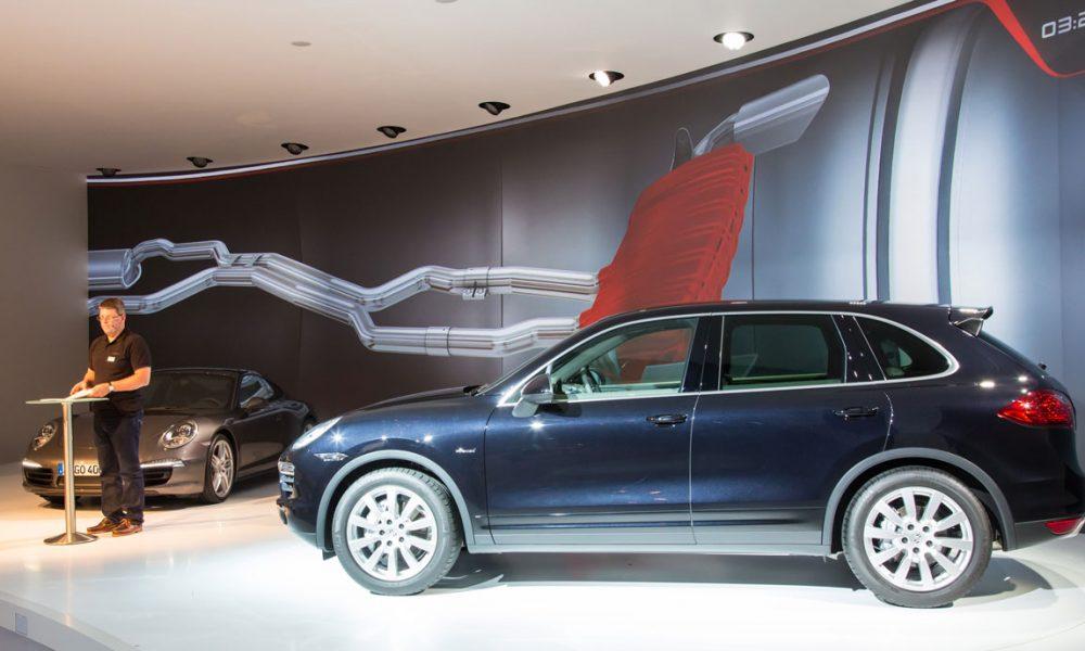 Pressevorstellung Porsche Cayman und Cayenne Diesel