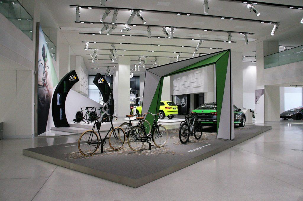 SKODA Ausstellung im DRIVE - Tour de France