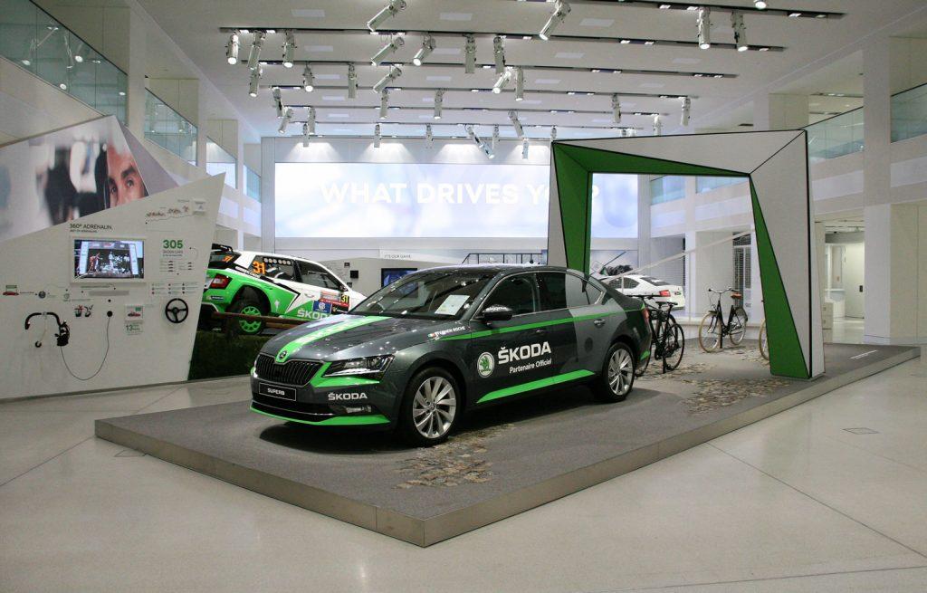 SKODA Ausstellung im DRIVE