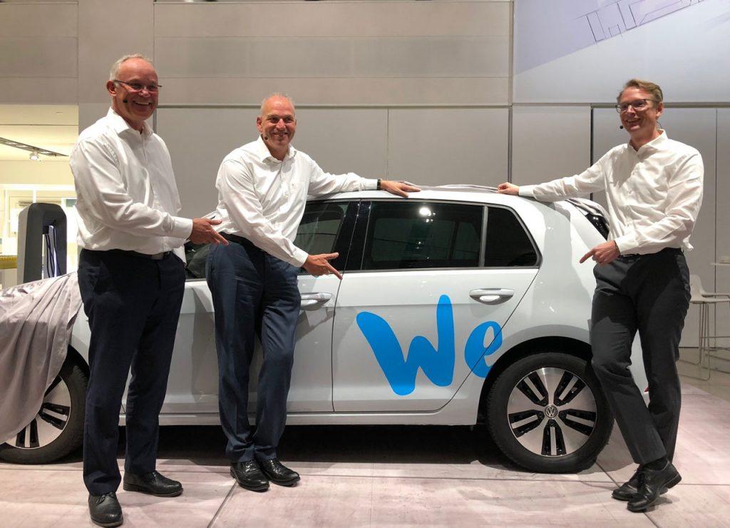 Pressegespräch im DRIVE. VW Group Forum mit J. Stackmann