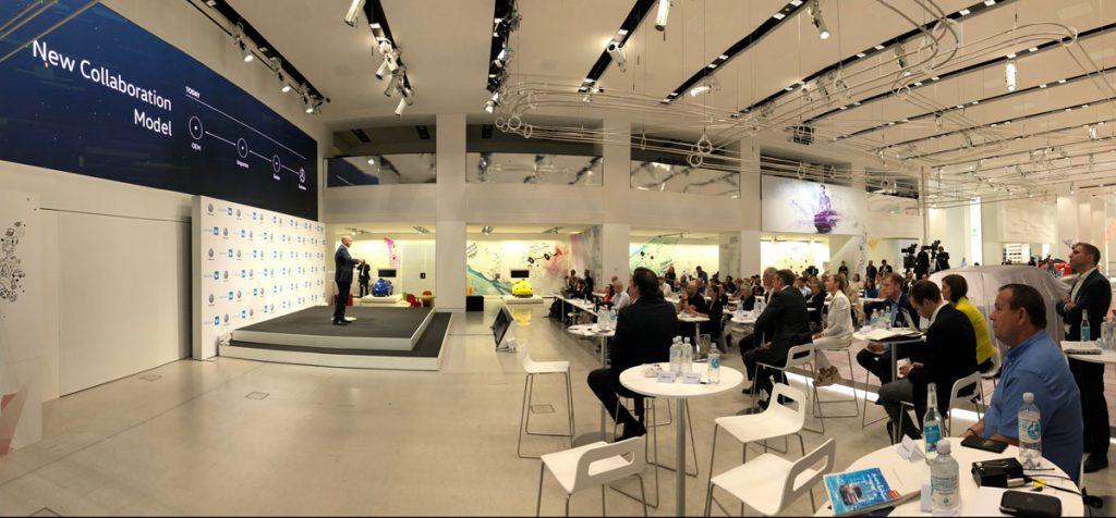 Pressegespräch im DRIVE . VW Group Forum