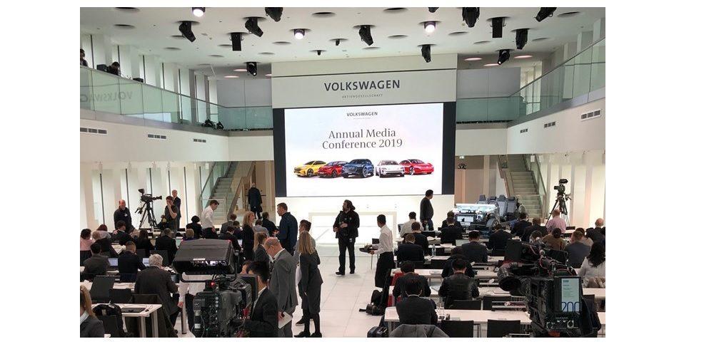 Jahrespressekonferenz 2019 des Volkswagen Konzerns