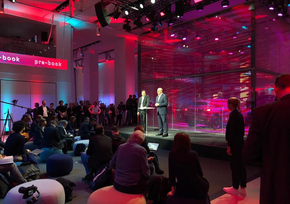 VW Pressekonferenz zum ID-Launch im DRIVE