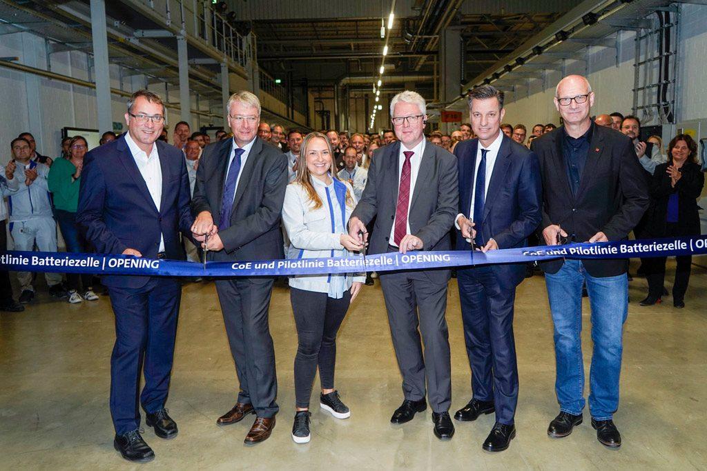 Eröffnung CoE Batteriezelle in Salzgitter Sepember 2019