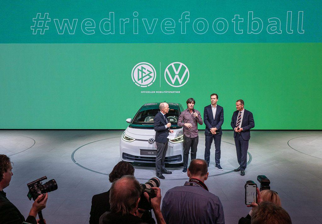 Pressekonferenz mit Löw - Volkswagen @ IAA 2019 in Frankfurt