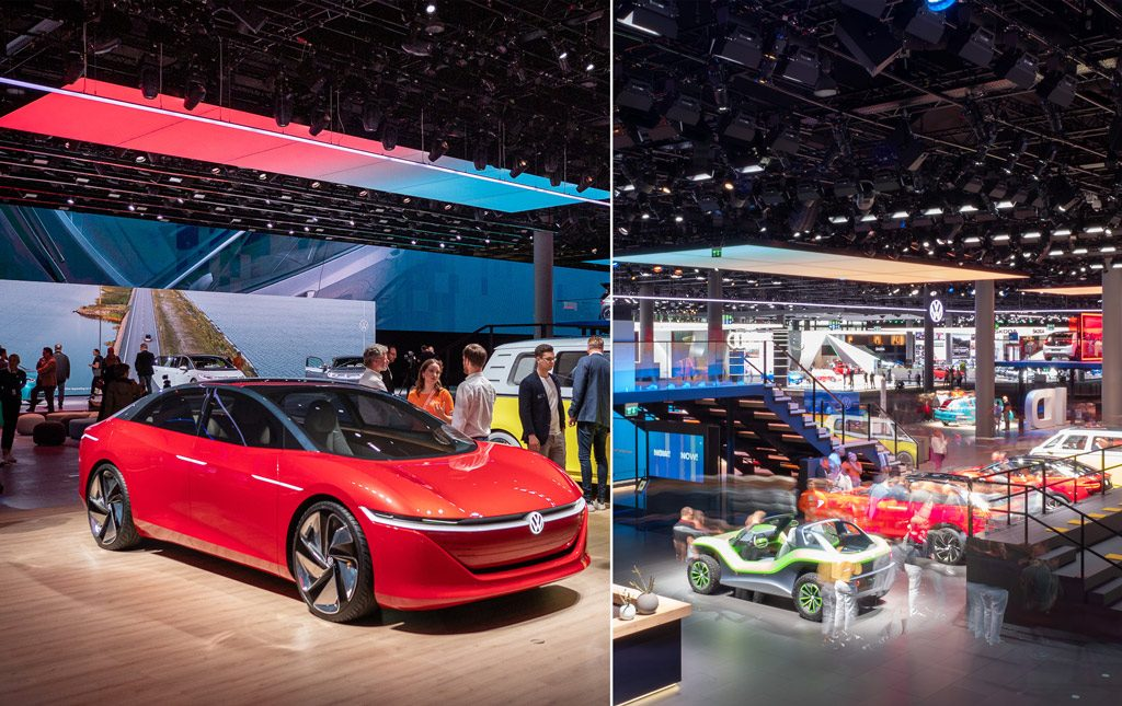 Messestand - Volkswagen @ IAA 2019 in Frankfurt