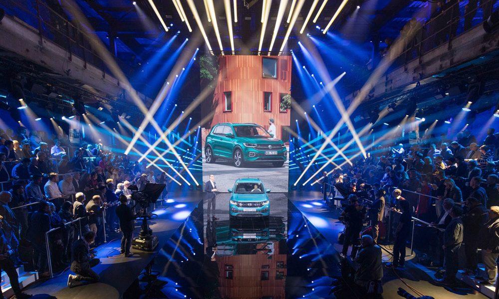 Weltpremiere VW T-Cross 2018 in Amsterdam
