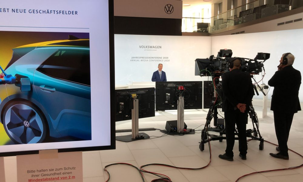 VW Jahrespressekonferenz 2020  – Online