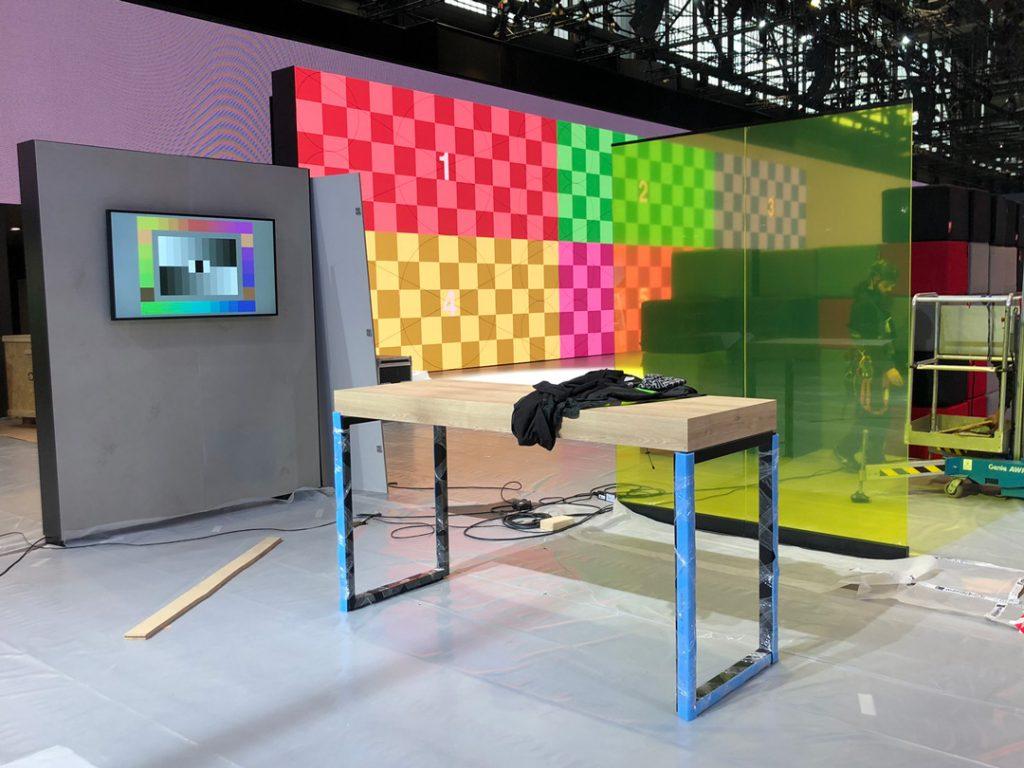 Genfer Autosalon 2020 - TV-Studio