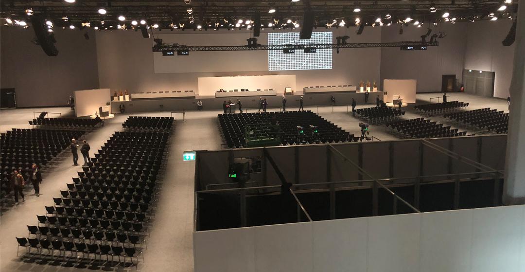 Volkswgen AG Hauptversammlung 2019 im Citycube Berlin