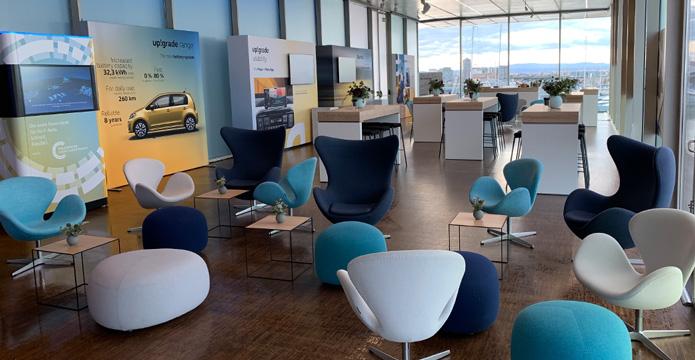 e-up! Fahrevent Valencia 2019  - Vele e Vents Lounge