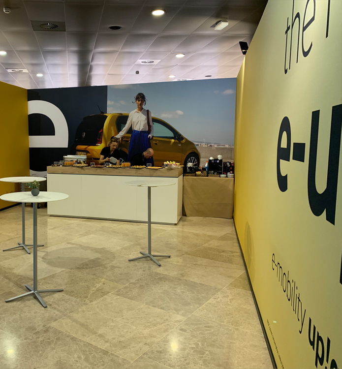 e-up! Fahrevent Valencia 2019 - Welcome Lounge Airport