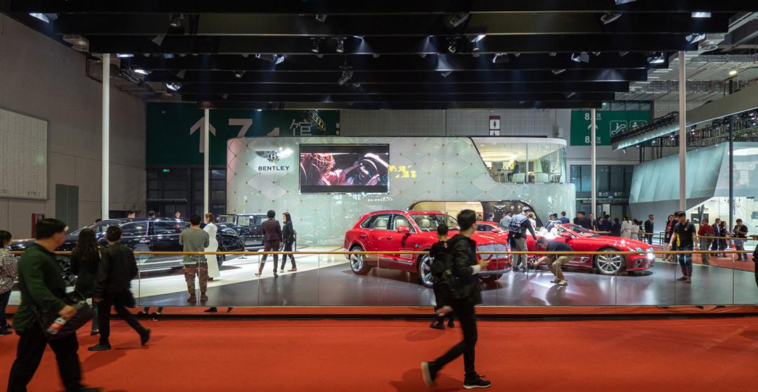 Auto China Shanghai 2019 - Bentley Messestand
