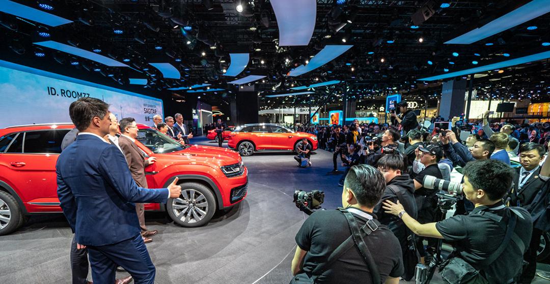 Auto China Shanghai 2019 - Volkswagen Messestand